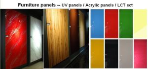 Foshan Manufacturer UV MDF Panel for Kitchen Cabinet Door Usage pictures & photos