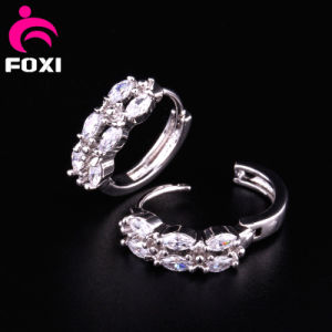 Shining Gemstone Ring Type Earring Design pictures & photos