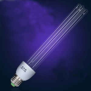 China Quartz Tube E27 Medium Base 185nm 254nm UVC Bulb Sterilamp ...