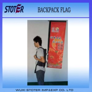 Advertising Backpack Flag Banner for Sale pictures & photos