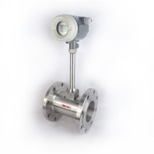 Vortex Flow Meter for Liquid Sewage Water Gas and Biogas pictures & photos