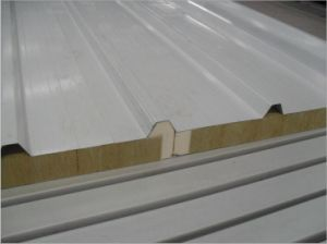 Heat Insulation Construction Material PU Sandwich Panels Composite Insulated Roof Panel pictures & photos