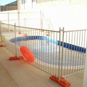 Galvanized Swimming Pool Temporary Fence pictures & photos
