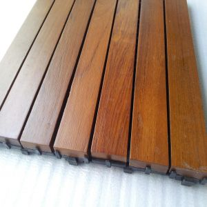 Easy Install Natural Teak Decking Tile pictures & photos