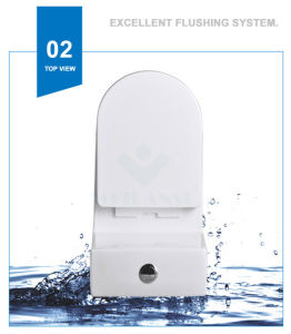 Weidansi Ceramic Wash Down S-Trap One Piece Toilet (WDS-T6102) pictures & photos