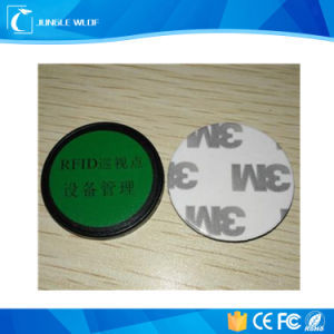 NFC Sticker 25mm Round Anti-Metal Ntag213 NFC Tag with 3m Sticker pictures & photos