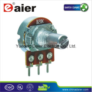 Carbon Precision Linear Potentiometer with Round Shaft pictures & photos