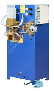 Air-Condition Copper Tube and Aluminum Tube Butt Welding Machine pictures & photos