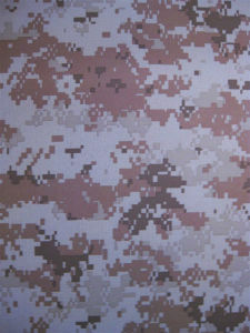Fy-DC11 600d Oxford Polyester Printing Digital Camouflage Fabric pictures & photos