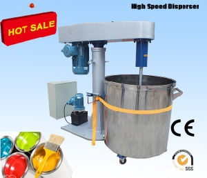 High Speed Disperser for Pigment Paint Hydraulic Lifting pictures & photos