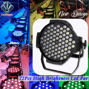 Unbeatable Price 72PCS 3W LED PAR DJ Stage Party Light pictures & photos
