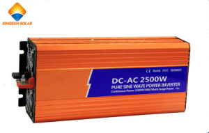CE RoHS Approved 12V/24V 2500W Pure Sine Wave Inverter pictures & photos