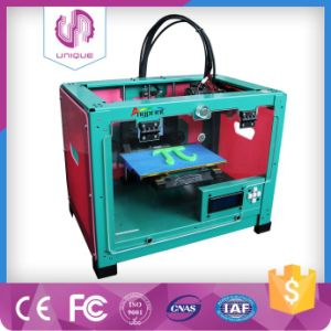 No Block New Generation 3D Printer with PLA/ABS Filament 1.75mm for Free pictures & photos
