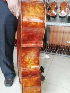 European Bird Eyes Maple Professional Grade Stradivarius Cello pictures & photos