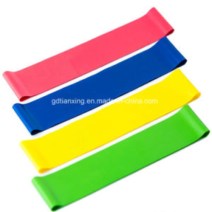 Global Selling Exercise Bulk Resistance Mini Bands pictures & photos