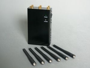 Free Shipping Hand-Held Portable 4G Lte Cell Signal Jammer pictures & photos