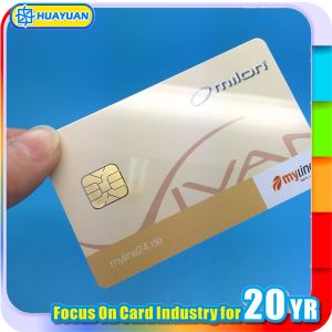 Cheap Price Printing SLE5542 Smart IC Contact Card pictures & photos