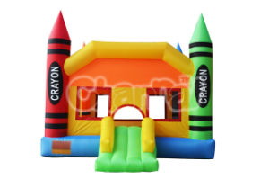 Crayon Inflatable Jumping Castle Residential Inflatable Castle Qb064 pictures & photos