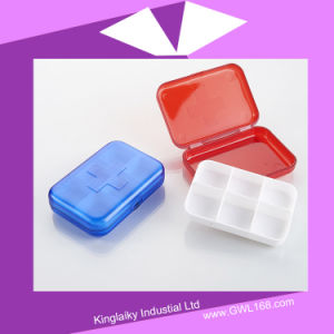 Plastic Medical Pill Box Kit with Logo for Promotion (BH-036) pictures & photos
