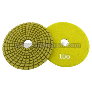 Premium Wet Flexible Polishing Pads for Granite pictures & photos