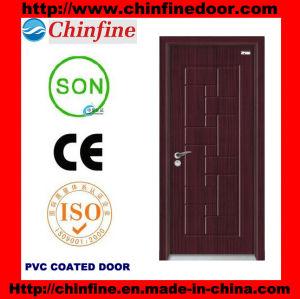 Modern Design PVC Doors (CF-W027) pictures & photos
