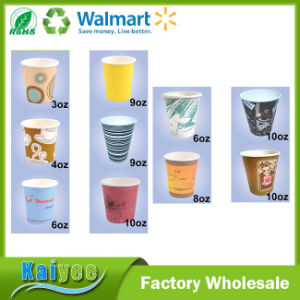 Wholesale Custom Different Capacity Disposable Paper Cup pictures & photos
