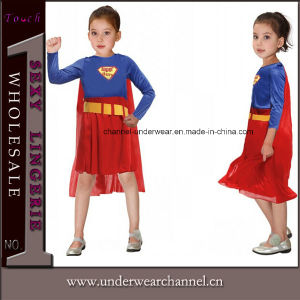 Children Christmas Clothing Boys Girl Super Hero Kids Costumes (TCQ020) pictures & photos