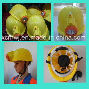 China High Quality Mining LED Lamp Safety Helmet Factory Price,Coal Miner′s Hat and Caps with Explosion-Proof LED Light,Mining Safety Helmet with LED Head Lamp