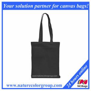 Promotional Cotton Canvas Reusable Shopper Bag pictures & photos