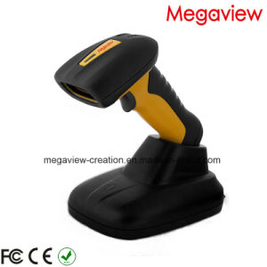 1200meters Long Distance Wireless Laser Barcode Scanner for Warehouse (MG-BS8522P) pictures & photos