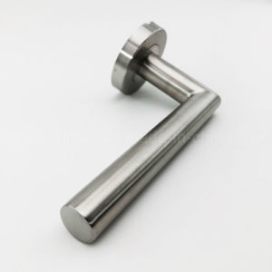 Stainless Steel Modern Interior Door Hollow Lever Handle (ZS019) pictures & photos