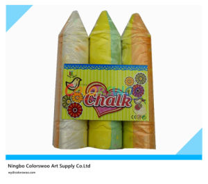 Jumbo Dustless Chalk in Plastic Basket pictures & photos