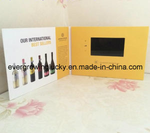 4.3inch LCD Screen Video Card for Wine pictures & photos