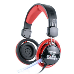 Hot Selling Gaming Headset with Silicone Cushion (RGM-908) pictures & photos