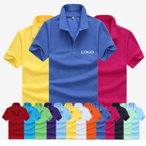 Factory Wholesale Cheaper Price Plain Polo T-Shirt pictures & photos