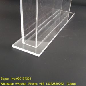Tabletop Acrylic Plastic Brochure Holder pictures & photos