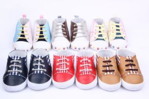 Sell Lower Price Mix Lots Infant Shoes Stock Shoes (150921-1) pictures & photos