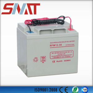 12V 38ah Gel Battery for Generator pictures & photos