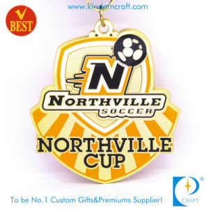 China Custom Northville Soccer Cup Metal Gold Medal pictures & photos