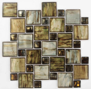 Brown Mix Crystal Glass Mosaic pictures & photos