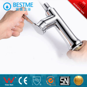 Two Function White Baking Brass Kitchen Faucet (BF-20209) pictures & photos