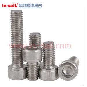DIN Standard Stainless Steel Hexagonal Head Screws pictures & photos