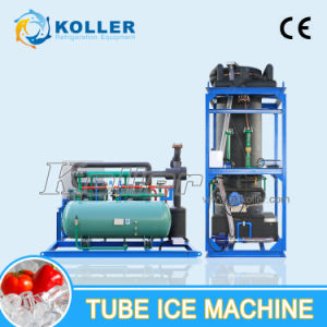 10 Tons Tube Ice Machine Produce Hollow Cylinder Ices (TV100) pictures & photos