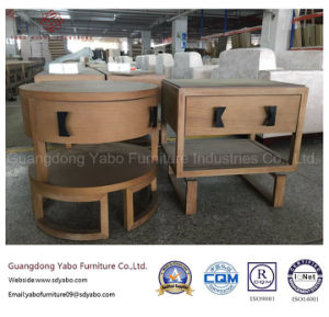 Simple Hotel Furniture for Wood Nightstand for Bedroom Furniture (YB-YL-1) pictures & photos