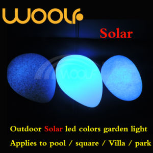 Woolf Outdoor Waterproof LED Illuminated Solar Light Energy Ball pictures & photos