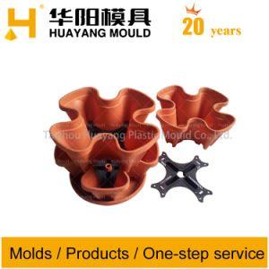 Plastic Art Flower Pot Mould (HY032) pictures & photos