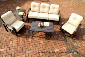 Aluminum Swivel&Glide Garden Chat Group Set Furniture pictures & photos