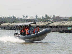 Liya 3.3-8.3m Military Patrol Boat Rigid Inflatable Rescue Boat pictures & photos
