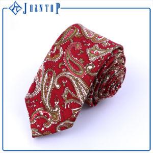 Printing Flower Eco-Friendly Handmade Wool Stock Necktie pictures & photos