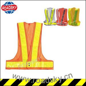 High Quality Working Security/ Road Safety Warning Vest for Workers pictures & photos